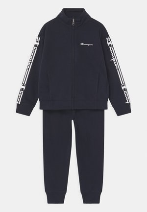 FULL ZIP SET UNISEX - Träningsset - dark blue