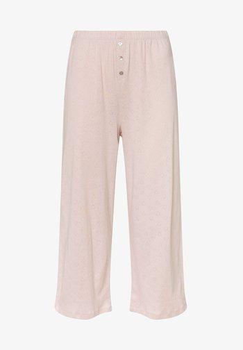 CUTWORK - Pyjama bottoms - light pink