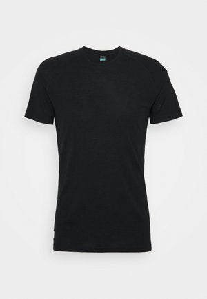 TEMPLE TECH  - Basic T-shirt - black