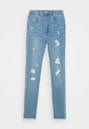 720 HIGH RISE SUPER SKINNY - Jeansy Skinny Fit - blue