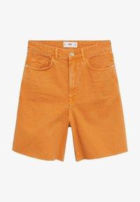 Mango - Shorts di jeans - oranje - 4