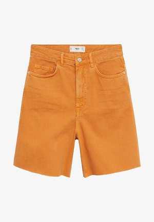Denim shorts - oranje