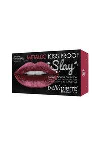 bellápierre - METALLIC KISS PROOF SLAY KIT - Palette pour les lèvres - red-esque - 1