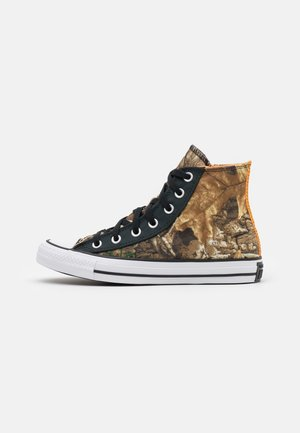 CHUCK TAYLOR ALL STAR UNISEX - Höga sneakers - black/multicolor/white