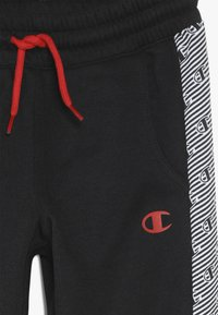 Champion - CHAMPION X ZALANDO PANT - Spodnie treningowe - black/white - 4