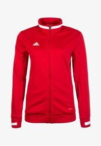 TEAM 19  - Training jacket - power red / white