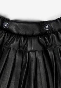 Name it - ROCK  - A-line skirt - black - 2