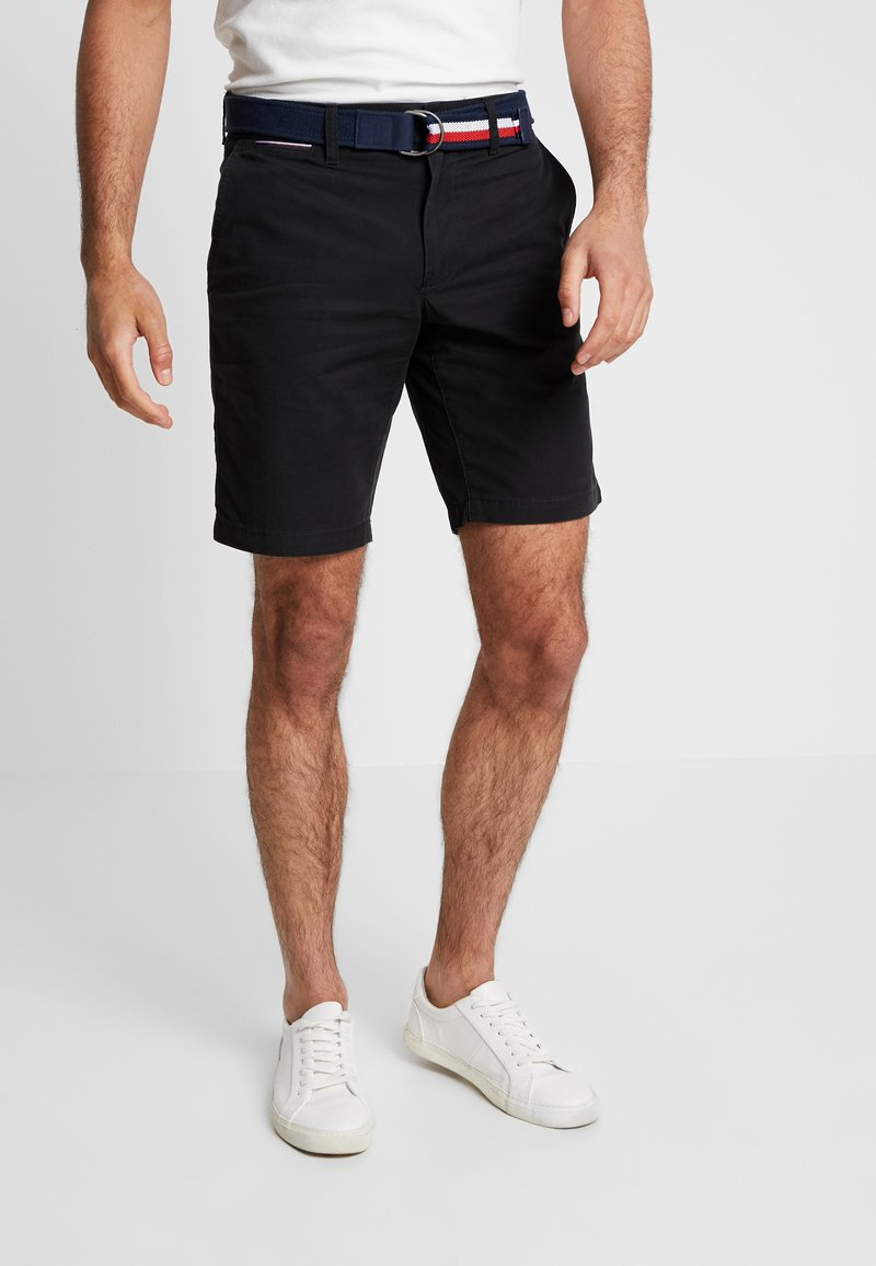 Tommy Hilfiger - BROOKLYN LIGHT BELT - Shorts - black