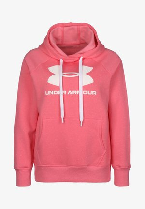 RIVAL  - Hoodie - pink / white