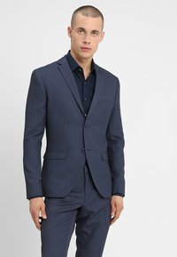 Isaac Dewhirst - FASHION STRUCTURE SUIT SLIM FIT - Suit - blue - 2