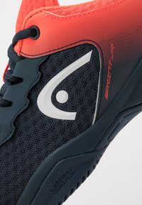 Head - SPRINT 2.5 JUNIOR - Allcourt tennissko - midnight navy/neon red - 2