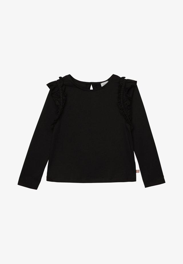 T-shirt à manches longues - charbon