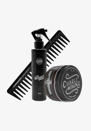 HAARWACHS, STRÄHNENKAMM & TEXTURIZING SPRAY EVERYDAY SPECIALS - Hair styling - weiß/schwarz/transparent