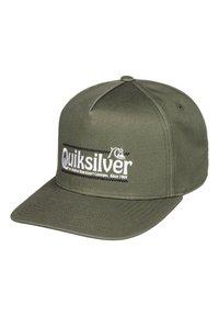 Quiksilver - QUIKSILVER™ WRANGLED UP - SNAPBACK-KAPPE FÜR MÄNNER AQYHA04571 - Cap - four leaf clover - 0