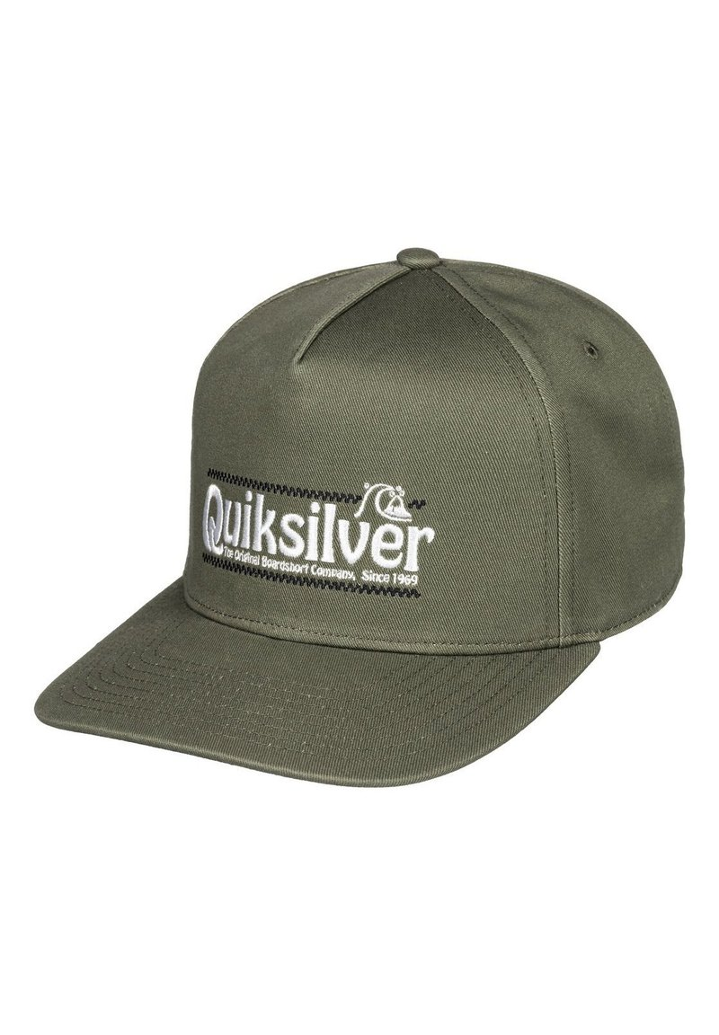 Quiksilver - QUIKSILVER™ WRANGLED UP - SNAPBACK-KAPPE FÜR MÄNNER AQYHA04571 - Cap - four leaf clover