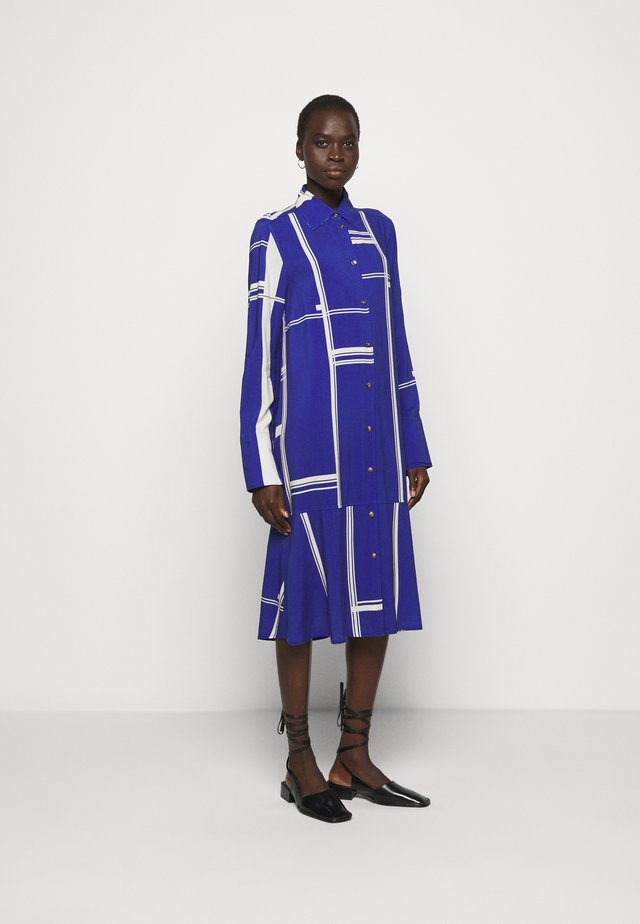 EASE - Shirt dress - limouges blue