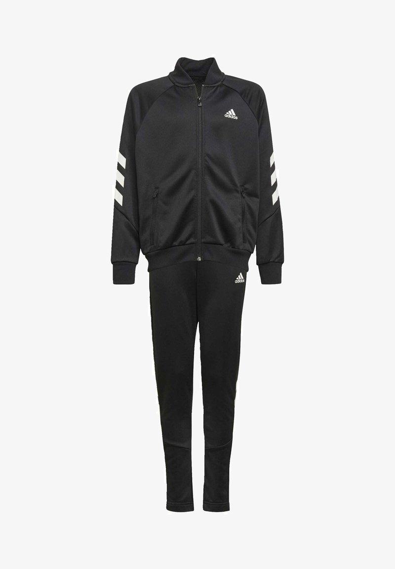 adidas Performance - XFG 3-STRIPES TRACKSUIT - Tracksuit - black