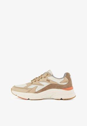 Sneakers laag - open beige