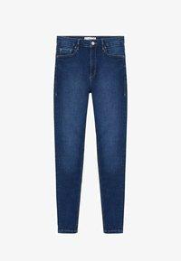 Mango - NOA - Jeans Skinny Fit - donkerblauw - 5