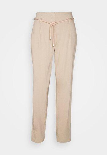 Spodnie materiałowe - bisque