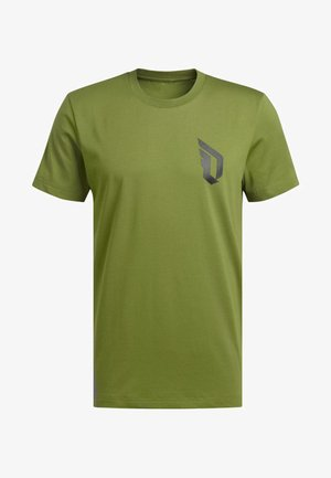 DAME VERB T-SHIRT - Print T-shirt - green