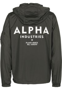 Alpha Industries - WINDBREAKER - Windbreaker - greyblack - 1