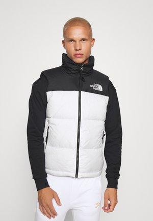 RETRO NUPTSE VEST UNISEX - Waistcoat - white