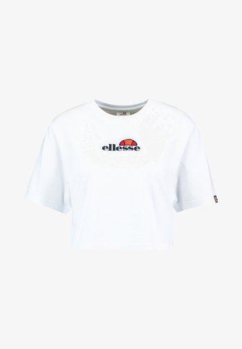 FIREBALL - T-shirt print - white
