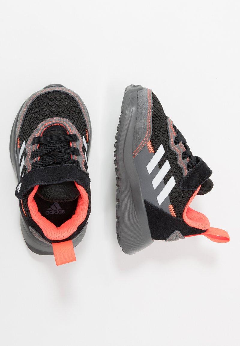 adidas Performance - RAPIDARUN ELITE - Neutral running shoes - core black/footwear white/solar red