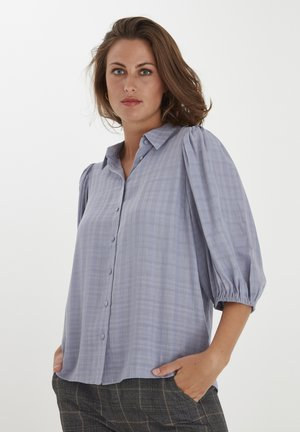 FXTASHA - Button-down blouse - dusty blue