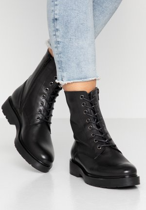 CLIO - Lace-up ankle boots - nero