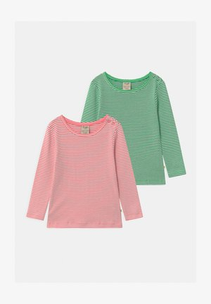 POINTELLE 2 PACK - Long sleeved top - pink