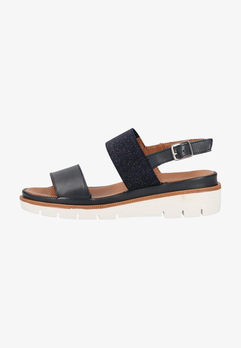 Marc - Platform sandals - blue