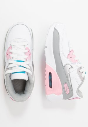 Air Max 90  - Sneakers laag - light smoke grey/white/pink/metallic silver