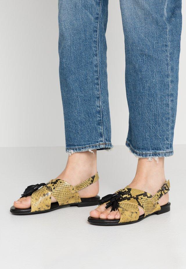 T-bar sandals - gialo