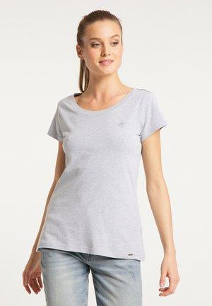 DREIMASTER T-SHIRT - Print T-shirt - light gray melange