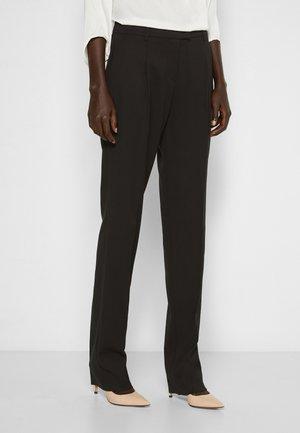 SPEZZATO - Trousers - black