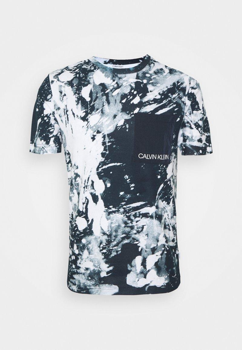 Calvin Klein - ICONIC  - Print T-shirt - white