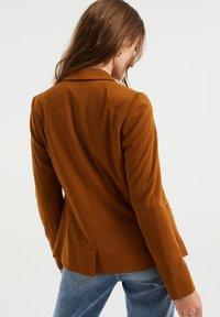 WE Fashion - Blazer - dark brown - 2