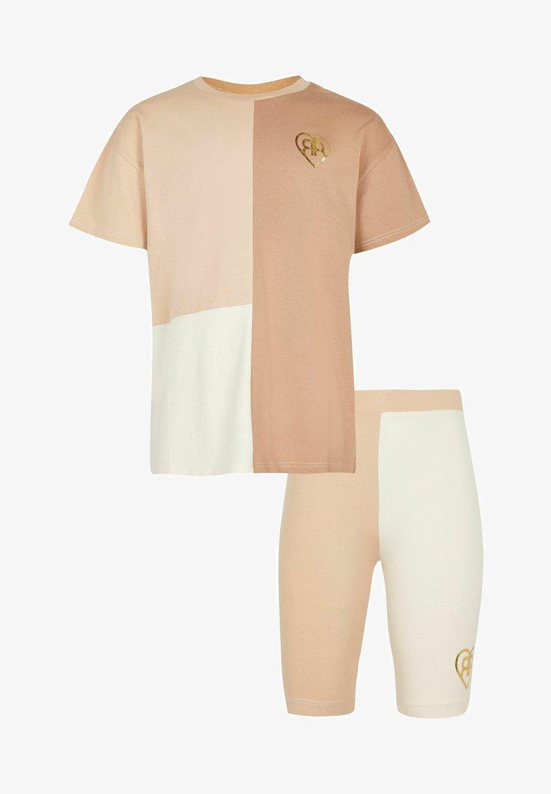 River Island - SET - Shorts - cream