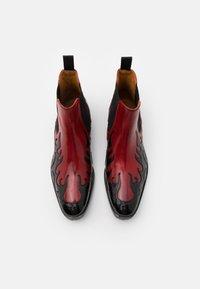 Melvin & Hamilton - TOM - Cowboy/biker ankle boot - black - 3
