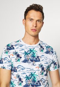 Superdry - SUPPLY - Print T-shirt - ice marl - 3
