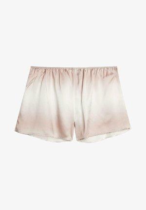 Pyjama bottoms - beige, white