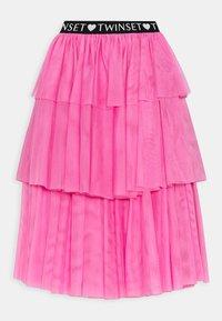 TWINSET - SKIRT - Maxi skirt - rose bloom - 1