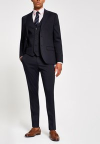 River Island - Trousers - navy - 1