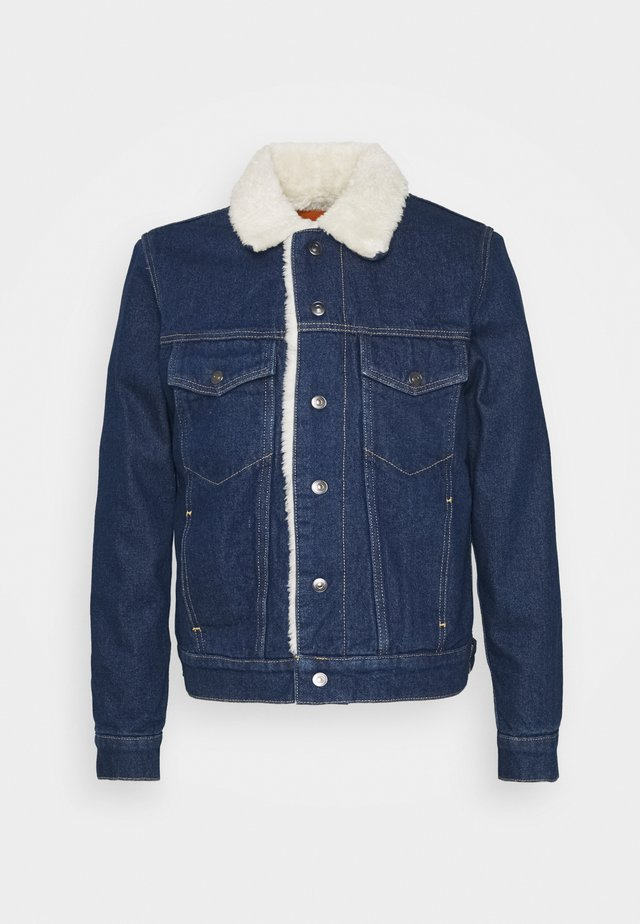 SHEARLING - Denim jacket - blue night