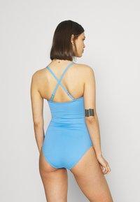 Marks & Spencer London - MAGIC BANDEAU - Swimsuit - blue - 4