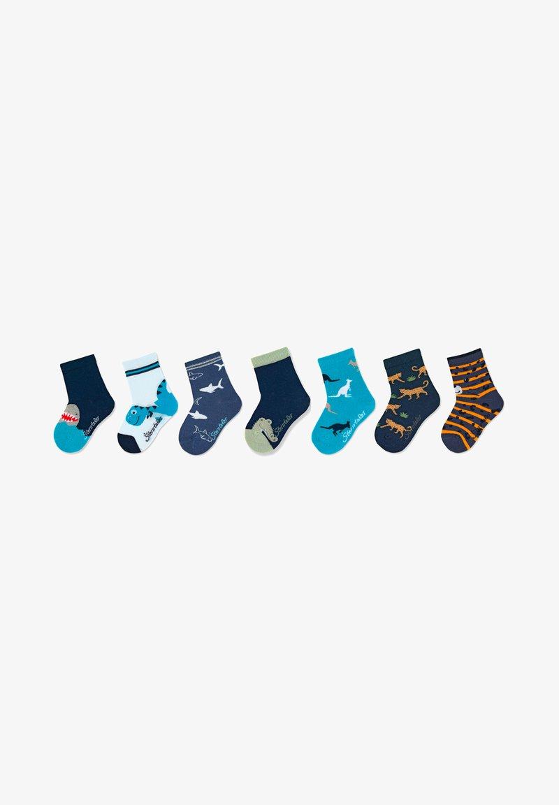 Sterntaler - SOCKEN 7ER-PACK ZOOTIERE - Socks - marine