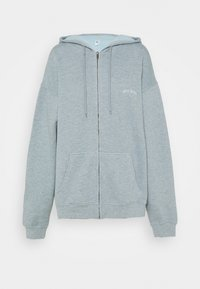 BDG Urban Outfitters - ZIP THROUGH HOODIE - Hettejakke - blue - 5