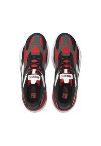 Puma - TWILL AIRMESH - Trainers - castlerock-poppy red - 3